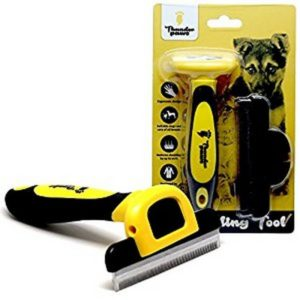 Thunderpaws Professional De Shedding Tool 300x300 - Best Cat Brush for Shedding - Full Guide for Best Cat Brushes