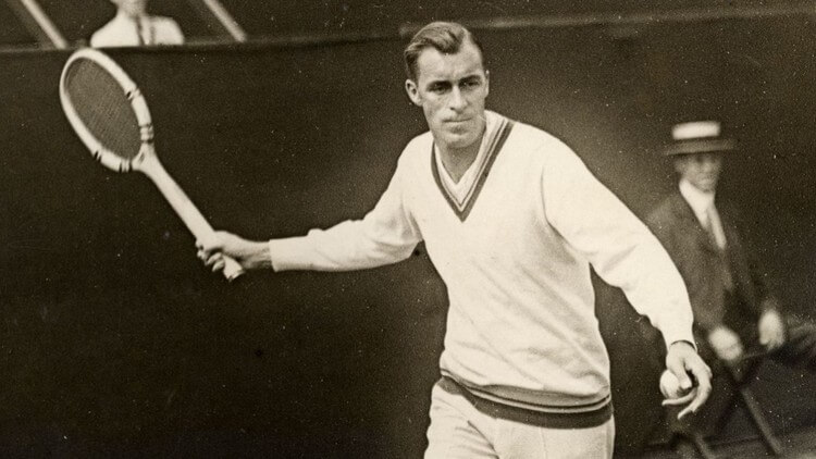 Bill Tilden - Most Grand Slam Titles -- Top 10 Tennis Players