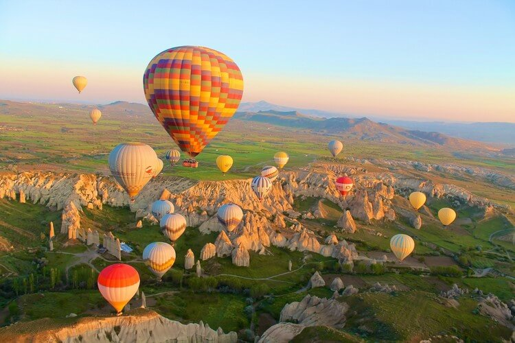 Cappadocia Turkey - Most Beautiful Places in the World to Visit in 2019