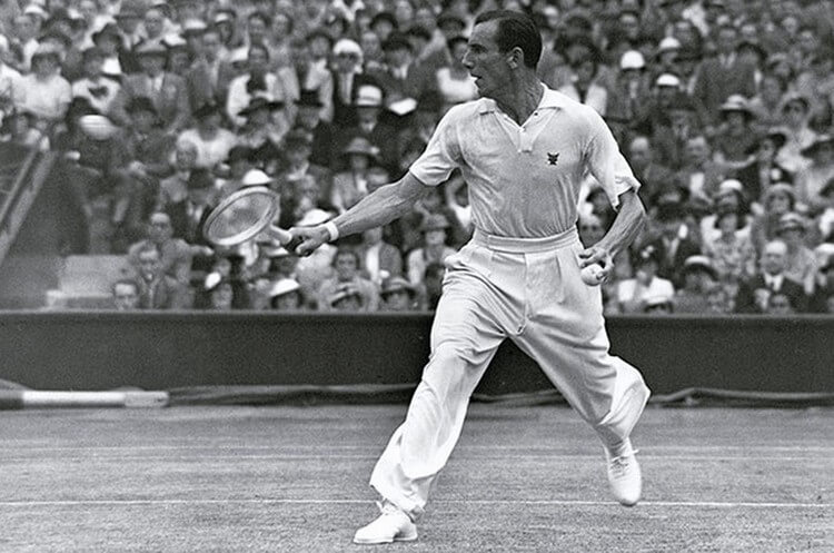 Fred Perry - Most Grand Slam Titles -- Top 10 Tennis Players