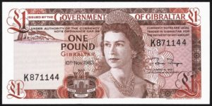 Gibraltar Pound 300x151 - Top 10 Most Valuable Currencies in the World