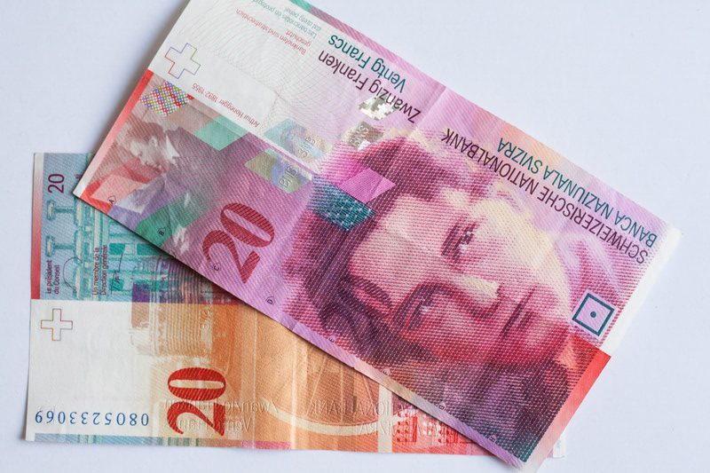 Old Swiss franc 20 © Vogelsp Dreamstime.com  e1494421303867 - Top 10 Most Valuable Currencies in the World