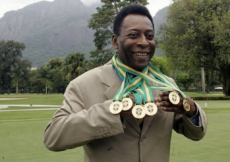 Pele 4 - Top 10 Players with Most Goals in World Cups