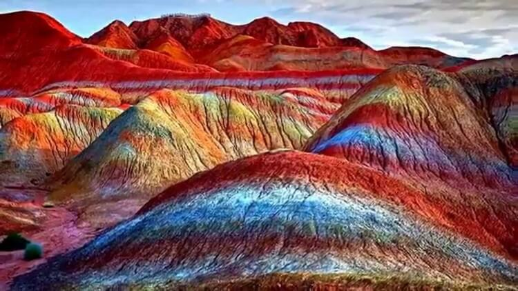 Rainbow Mountains China - Most Beautiful Places in the World to Visit in 2019