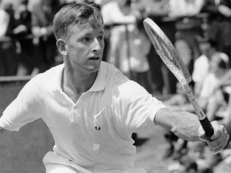 Rod Laver - Most Grand Slam Titles -- Top 10 Tennis Players