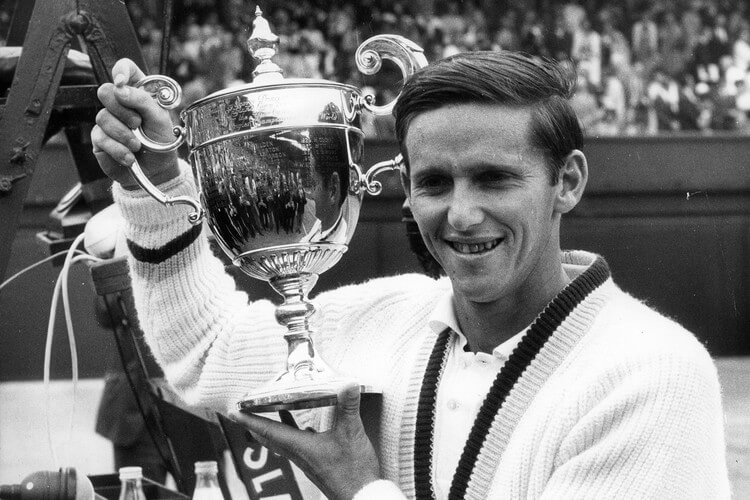 Roy Emerson - Most Grand Slam Titles -- Top 10 Tennis Players