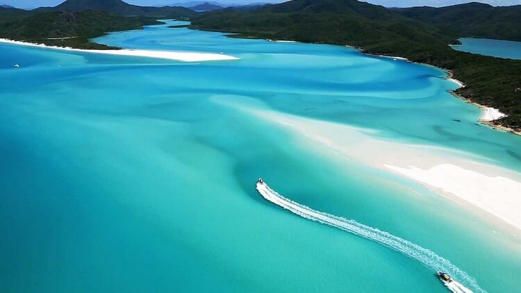Whitehaven Beach Australia - Most Beautiful Places in the World to Visit in 2019