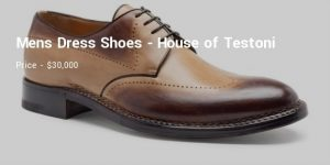 Testoni Men's Dress Shoes 300x150 - A comprehensive list of most expensive shoes