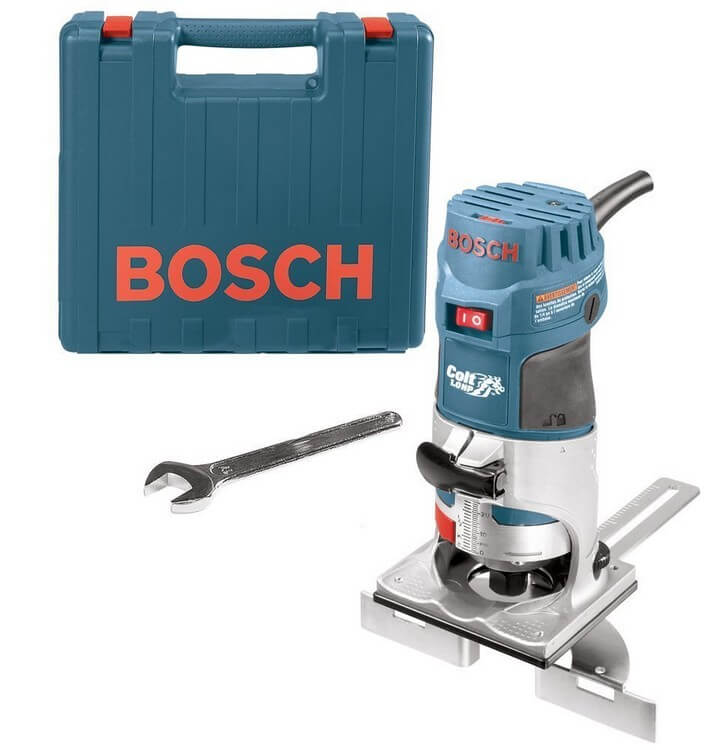 Bosch PR20EVSK 1 - 10 Best Routers for Table Mounting - Top Products Reviews 2021