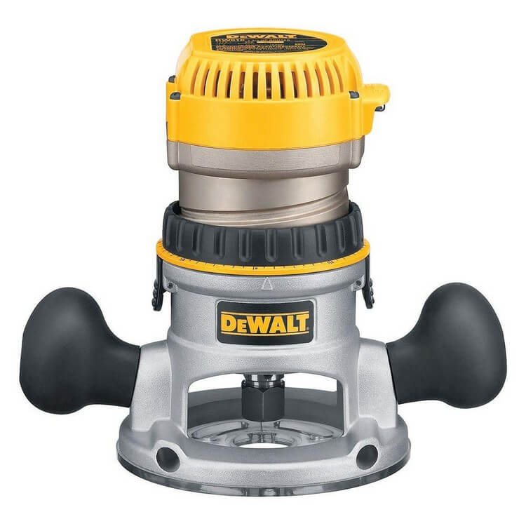 DeWalt DW616 - 10 Best Routers for Table Mounting - Top Products Reviews 2021