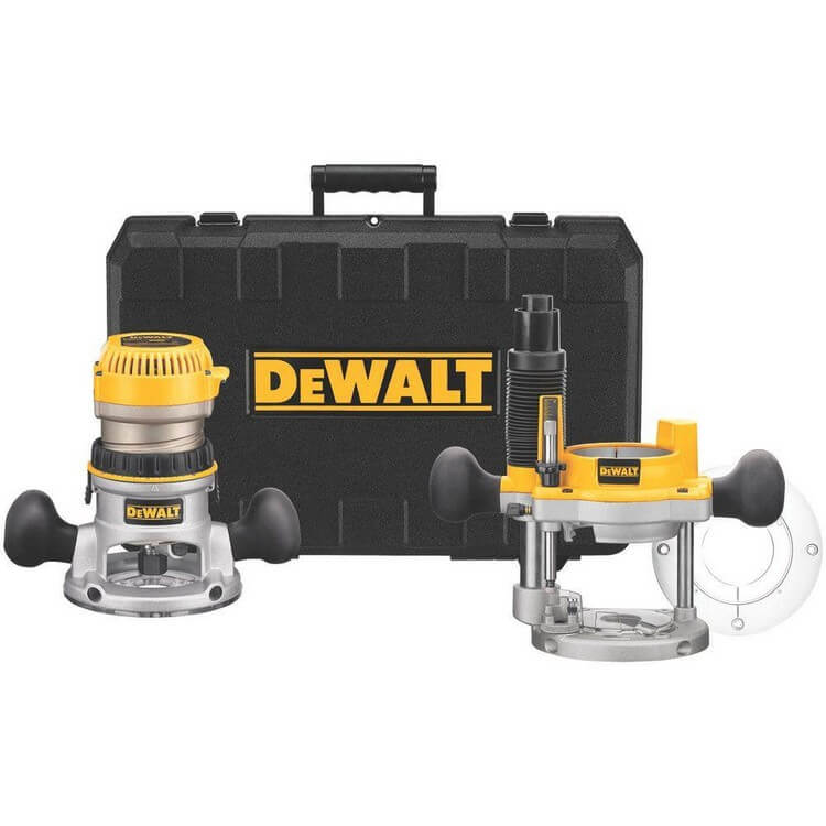 DeWalt DW618PK - 10 Best Wood Routers 2021 - Top Products Reviews