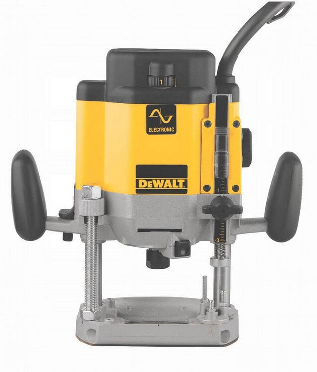 DeWalt DW625 - 10 Best Plunge Router 2021 - Top Products Reviews