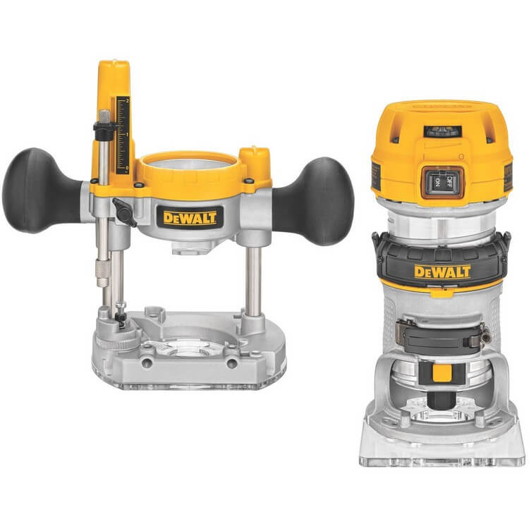 DeWalt DWP611PK 2 - 10 Best Routers for Table Mounting - Top Products Reviews 2021