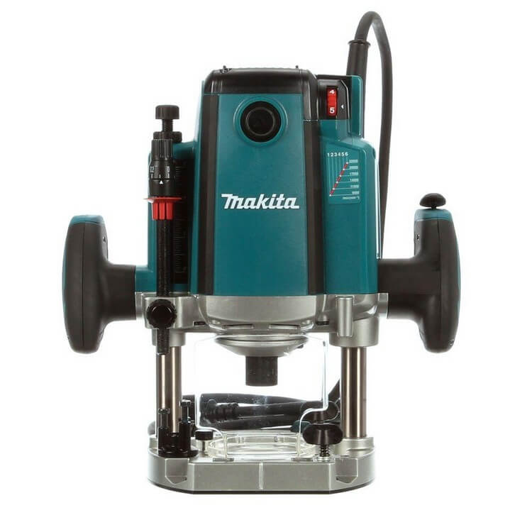 Makita RP1800 3 14 HP - 10 Best Wood Routers 2021 - Top Products Reviews