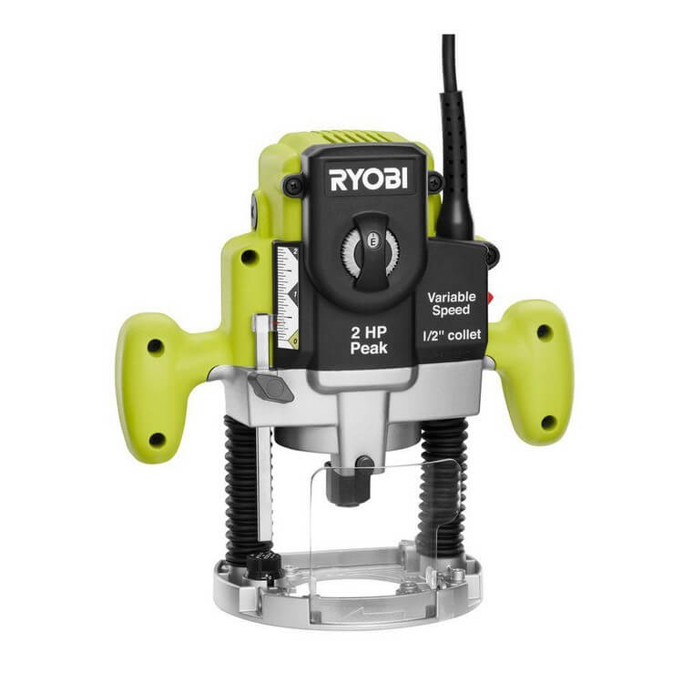 Ryobi RE180PL1G 2HP - 10 Best Plunge Router 2021 - Top Products Reviews