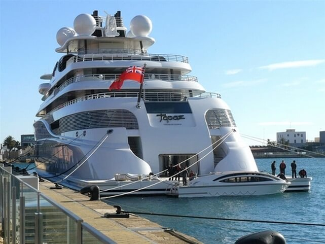 topaz yacht photos 1 - Most Expensive Yacht in the World