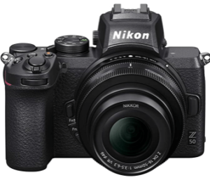 Nikon Z50 Compact 300x258 - Best Vlogging Camera with Flip Screen 2021 -Top Products & Buyer Guide